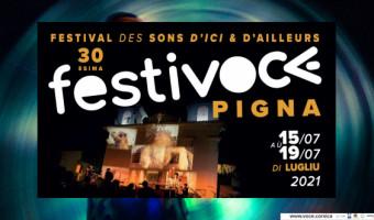30 ème édition de FESTIVOCE / Pigna du 15 au 19 juillet