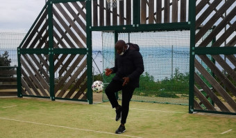 Football : Basile Boli  en défenseur du football corse !