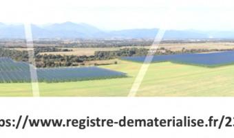 Création d'ombrières agricoles et photovoltaïques à Pinia (Ghisunaccia)