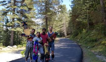 Longboard- longskate, un sport qui ne demande qu'à émerger en Corse !