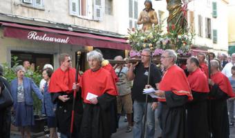 Cunfraternità San Ghjuvan Battista d'Aiacciu : nantu à u solcu di a memoria