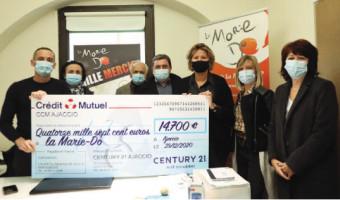 Bilan de l'opération « Mille Mercis » : 14.700 euros récoltés pour La Marie-Do