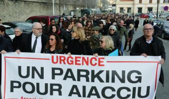 « Un parking pour Aiacciu » :  Le cri ders commerçants résonne avant les élections