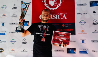 Anthony Duriani remporte le BikingMan Corsica